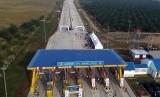 Jalan tol di Gerbang tol Tebing Tinggi - Sei Rampah siap dioperasikan, Sumatera Utara, Ahad (24/3/2019).