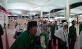 Jamaah haji asal Malaysia. (ilustrasu/republika).