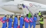 Total 95 ribu jamaah haji Nigeria akan diberangkatkan pada 2020. Foto jamaah haji Nigeria (ilustrasi)