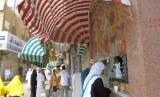 Jamaah haji wanita di Makkah, Arab Saudi.