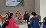 Jaringan Intelektual Muda Lampung untuk Demokrasi menggelar diskusi terkait isu SARA di Pilpres 2019.
