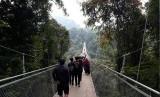 Selain Geopark, Sukabumi Miliki Jembatan Gantung Terpanjang