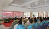 Kabupaten Muba kembali dipercaya sebagai tuan rumah Pelatihan Pelatih (Coach) Panjat Tebing Level I Se- Sumatera Selatan (Sumsel).