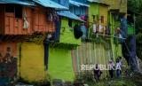 Kampung warna-warni / Ilustrasi