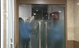 Kantor fraksi PPP di Kompleks Parlemen Senayan, Jakarta, dijaga ketat, Jumat (15/3) pascakabar OTT Ketua Umum PPP M Romahurmuziy.