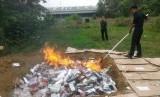 Pengawasan di permusnahan barang bukti rokok illegal