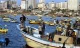 Kapal nelayan di Palestina