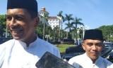Kapolda Jawa Barat, Irjen Rudy Sufahriadi di Gedung Pakuan, Kota Bandung, Rabu (5/6).