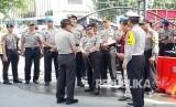 Kapolri Jenderal Pol Tito Karnavian mengunjungi Mapolda Riau, Kamis (17/5).