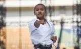 Karateka cilik (ilustrasi).