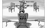 Karikatur Berebut Ketua MPR