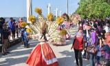 Karnaval di pantai Lagoon Ancol (ilustrasi).