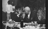 Keakraban Presiden pertama RI, Sukarno dan Perdana Menteri Uni Soviet, Nikita Kruschev