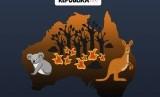 Kebakaran ancam kepunahan hewan-hewan unik di Australia.