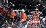 Kebakaran Pasar / Ilustrasi