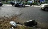 Kecelakaan lalulintas. (ilustrasi)