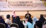 Kegiatan diskusi di acara Republika Young Muslim Entrepreneur Day, Yogyakarta