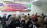 Kegiatan evaluasi dan monitoring hasil hibah PDP 2018 bagi dosen STMIK Nusa Mandiri.