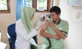 Kegiatan imunisasi difteri.