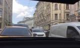 Kemacetan di Moskow