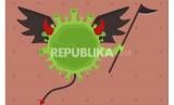Kematian akibat virus corona, ilustrasi