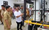 Kemendes PDTT mengirimkan mobil tangki air bersih ke Pemkab Sigi.