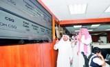 Kemenkes Arab Saudi mengecek kesiapan pusat call center 937 (ilustrasi). Kementerian Kesehatan (Kemenkes) Saudi bertindak tegas atas pelanggaran protokol kesehatan pencegahan Covid-19.