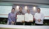 Kementerian Desa Pembangunan Daerah Tertinggal, dan Transmigrasi Republik Indonesia (Kemendes PDTT RI) menggandeng Bank BNI dan BNI life Insurance memberikan fasilitas kepada Tenaga Pendamping Desa.