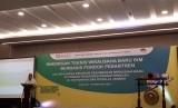 Kementerian Perindustrian menggelar pelatihan kewirausahaan berbasis pondok pesantren di Indonesian Convention Exhibition (ICE) BSD, Tangerang, Banten, Selasa, (18/2).