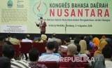 Kepala Badan Pengembangan dan Pembinaan Bahasa Kementerian Pendidikan dan Kebudayaan RI Dadang Sunendar