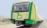 Kereta api yang akan dioperasikan untuk melayani jamaah haji dari Makkah ke Arafah