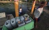Warga kesulitan air bersih (ilustrasi)