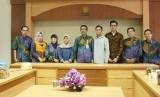 Dosen Universitas Islam Negeri Sunan Kalijaga (UIN Suka) Yogyakarta menyambut kedatangan mahasiswa Program Studi Ilmu Komunikasi yang melakukan kegiatan Kuliah Kerja Komunikasi (K3) di Ruang Sidang Lantai II Fiishum,  Rabu (09/01) kemarin.