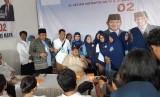 Ketua Badan Pemenangan Nasional (BPN) Prabowo-Sandi, Djoko Santoso, meresmikan Kantor Pusat BPN di Jl Letjen Suprapto No 53 A Sumber, Banjarsari, Solo, Jumat (11/1).
