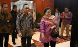Ketua MPR RI Zulkifli Hasan bersama Megawati.