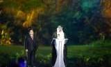 Ketua OCA Sheikh Ahmad Al-Fahad Al-Sabah memberikan sambutan didampingi Ketua panitia pelaksana Asian Games 2018 (INASGOC), Erick Thohir saat pembukaan Asian Games ke-18 tahun 2018 di Stadion Utama Gelora Bung karno , Senayan, Jakarta, Sabtu (18/8), tahun lalu.