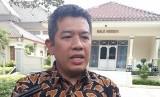 Ketua Sekolah Tinggi  Multi Media (STMM) MMTC Yogyakarta, Noor Iza, di Kepatihan Yogyakarta.