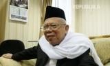 Ketua Umum Majelis Ulama Indonesia (MUI) KH Ma'aruf Amin