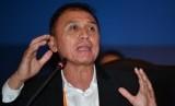 Ketua Umum PSSI terpilih Mochamad Iriawan menyampaikan konferensi pers usai Kongres Luar Biasa (KLB) PSSI di Jakarta, Sabtu (2/11/2019).