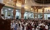Penyuluh agama Islam sebagai upaya mencegah ekstremisme agama di Aceh. Khatib atau penceramah memberikan tausiyah. (ilustrasi)
