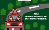 Kiat menghindari kelelahan saat menyetir mudik