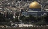 Kompleks Masjid Al Aqsa di Jerusalem.