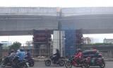 Ilustrasi flyover di Jakarta