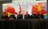 Konferensi pers 8th Foo Kok Keong International Cup 2019 di taufik Hidayat Arena, Jakarta Timur, Kamis (12/9).