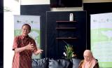 Konferensi pers tentang SEAL (Social Enterprise Advocacy and Leveraging) International Conference ke-2 yang akan diselenggarakan di Bali, oleh Dompet Dhuafa dan Bina Swadaya di Kantor Dompet Dhuafa, Jakarta Selatan, Kamis (24/9) siang.