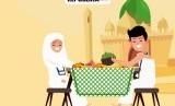 Menu akanan jamaah haji Indonesia (Ilustrasi).