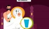 Konsumsi untuk jamaah haji (Ilustrasi).