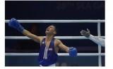 Petinju Indonesia Kornelis Kwangu Langu. Kornelis hanya meraih perak SEA Games 2019 tinju kelas layang ringan (46-48kg) putra setelah kalah dari petinju Filipina Carlo Paalam.