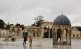 Kompleks Masjid Al Aqsha, Yerusalem, Palestina.