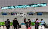 Langkah Antisipasi Penumpang Covid-19 di Bandara Semarang